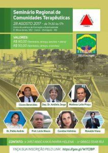 Seminário Regional de Comunidades Terapêuticas