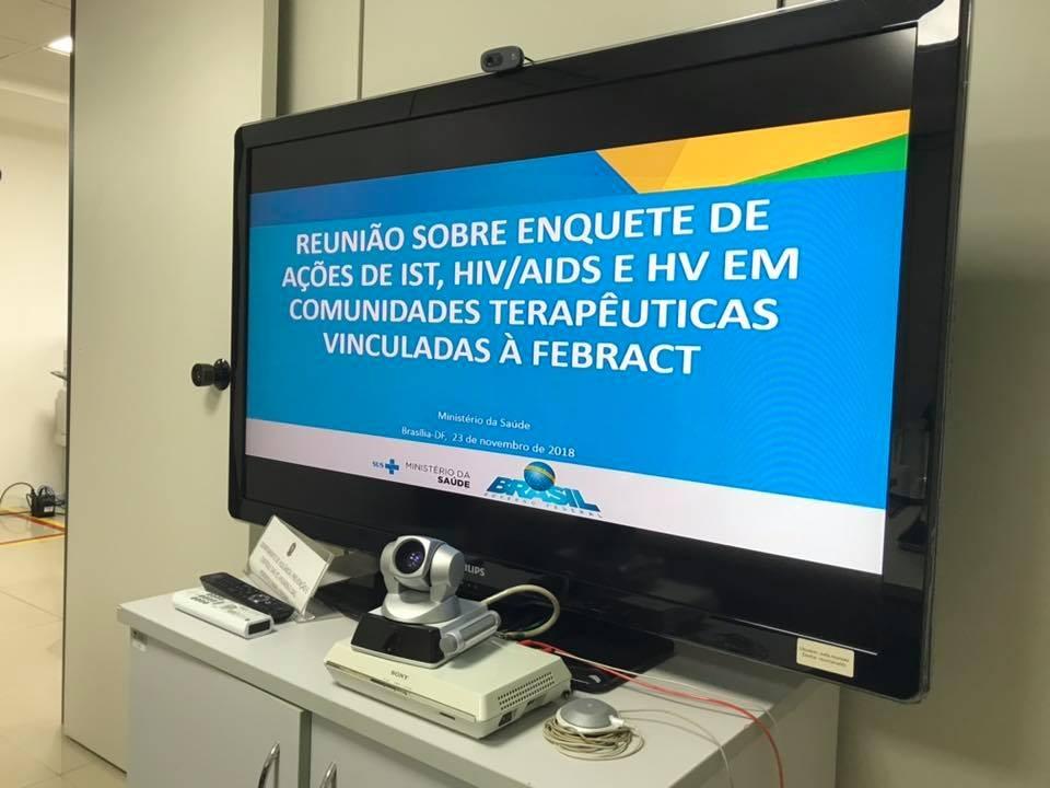 Reunião sobre Enquete em Brasilia