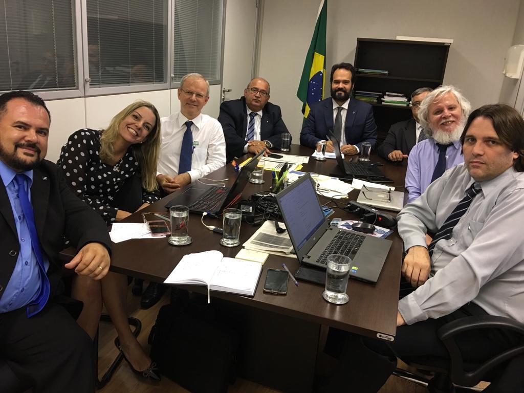 Reunião entre CONFENACT, SENAPRED e Frente Parlamentar de CTs