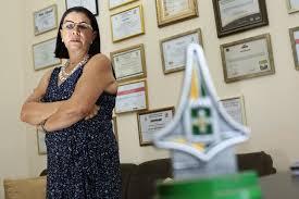 Areolenes Curcino Nogueira, fundadora do Instituto Crescer